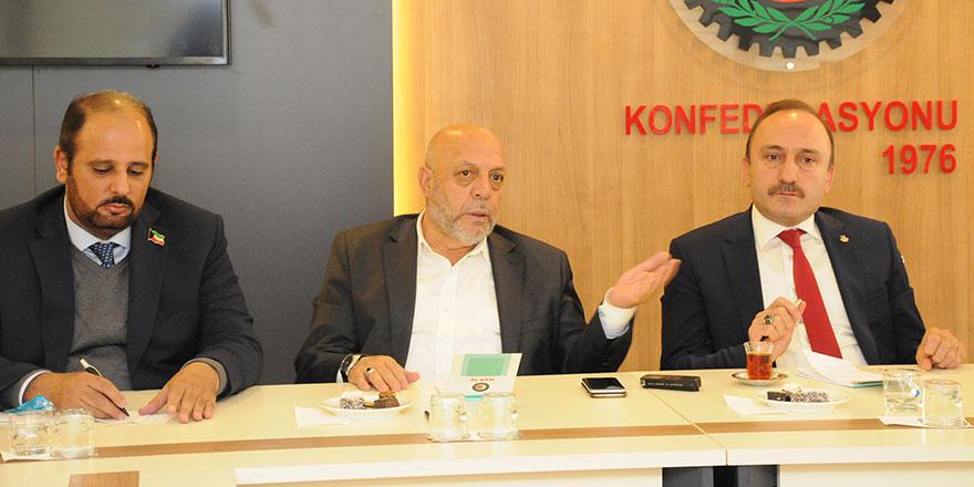 Mahmut Arslan: Kuveyt'teki sendikalarla ilişkilerimizi arttırıyoruz