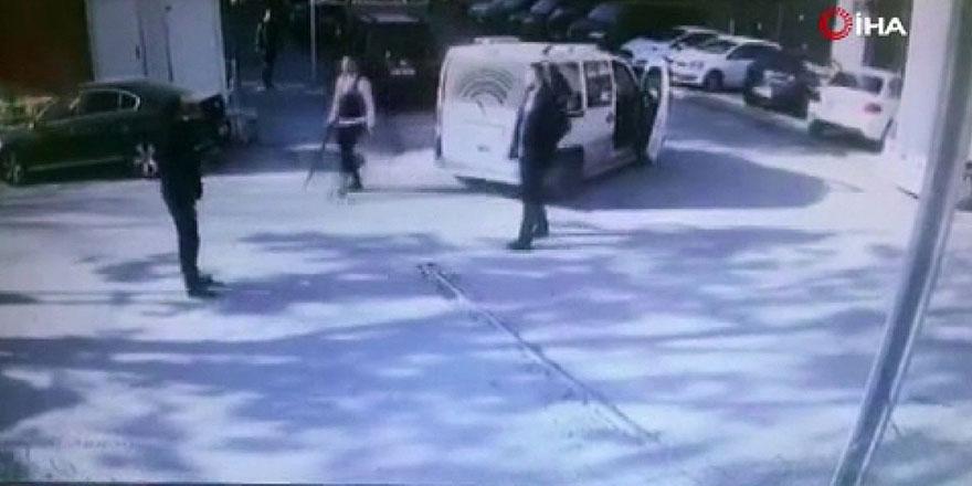 Başkent'te otoparkta tüfekli dehşet