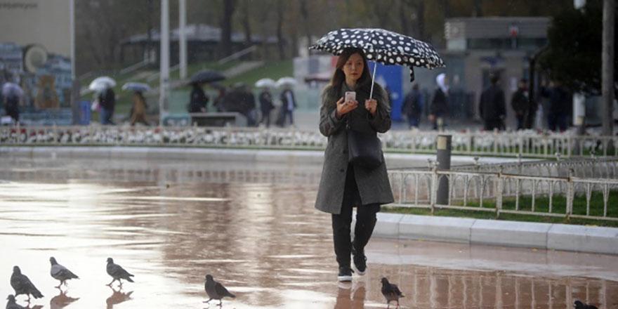 Meteoroloji'den sağanak yağış uyarısı (10 Kasım Hava durumu)