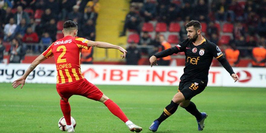 Galatasaray, Kayserispor'u kendi evinde yendi