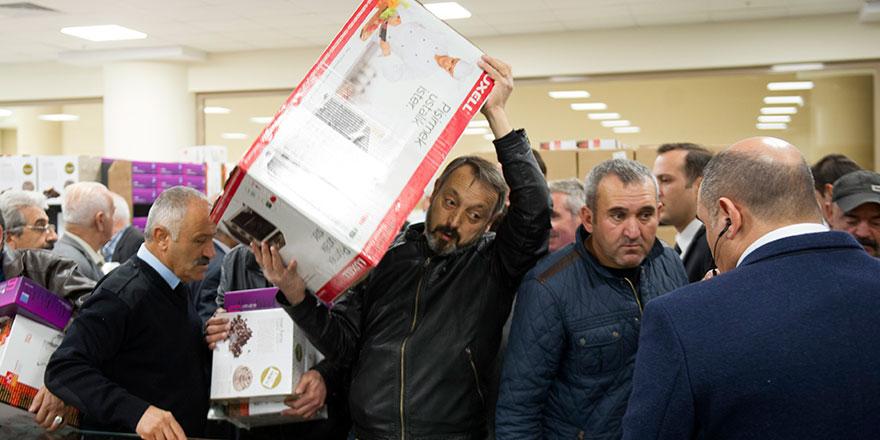 Gümrük mallarının Ankara'daki yeni adresi açıldı