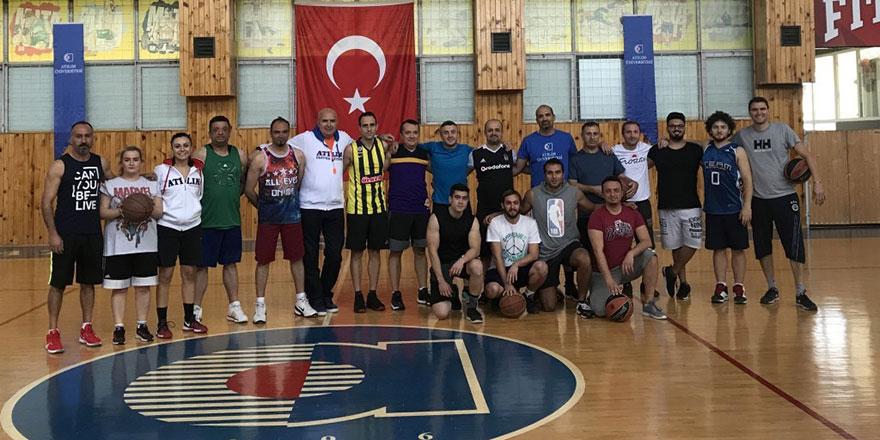 3x3 Basketbol Turnuvası gerçekleşti