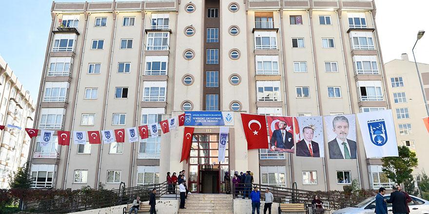 Başkent'te yeni gençlik merkezi
