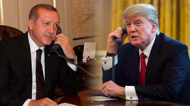 Erdoğan ve Trump telefonla görüşüp anlaştılar
