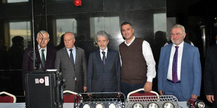 Tuna, İvedik Organize Sanayi'nde esnafı ziyaret etti