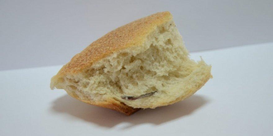 Ekmeğin içinden çıkan mide bulandırdı