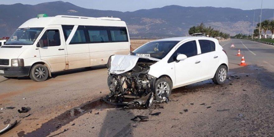 Gaziantep'teki feci kazada 14 kişi yaralandı