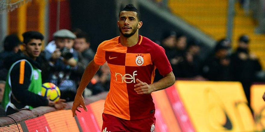 Galatasaray'da Belhanda 6 hafta oynamayacak