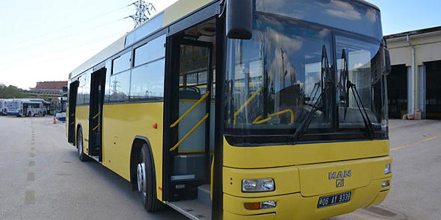 EGO'dan Bosna'ya otobüs desteği