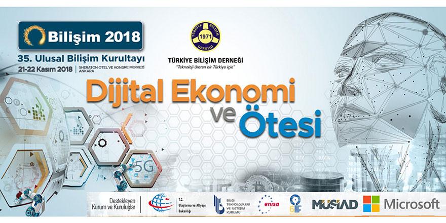 35. Ulusal Bilişim Kurultayı Ankara'da gerçekleşecek