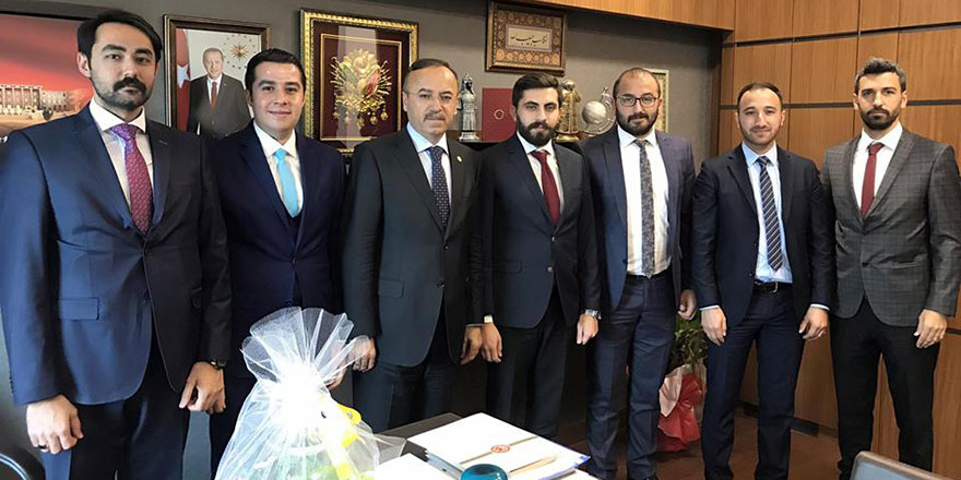 Hacı Turan'a ziyaretler devam ediyor