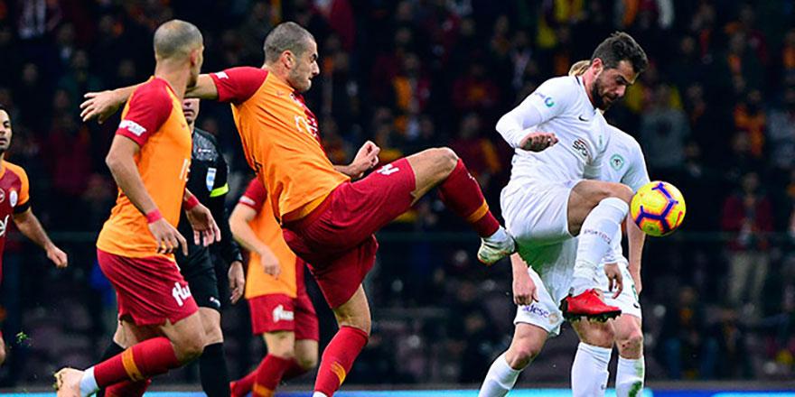 Galatasaray derbi öncesi yara aldı