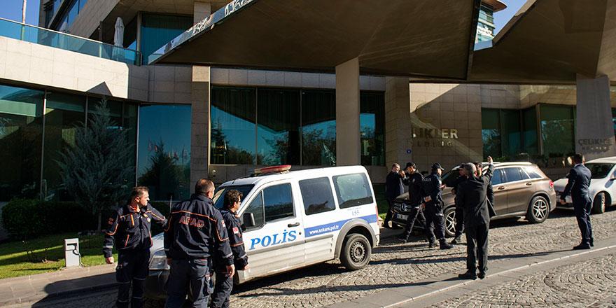 Ankara'da lüks bir otelde siyanürle intihar iddiası