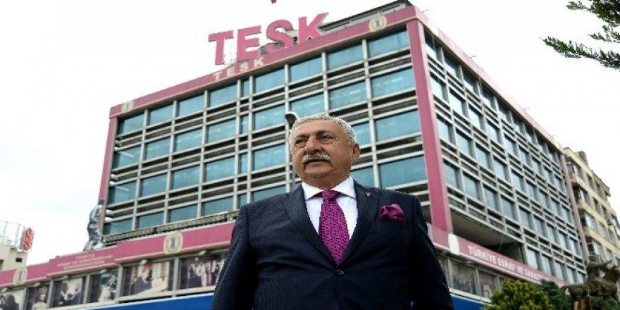 TESK Genel Başkanı Palandöken'den gençlere gelir testi uyarısı