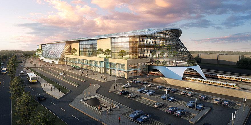 Ankara YHT Garı Başkentin yeni yaşam merkezi oldu