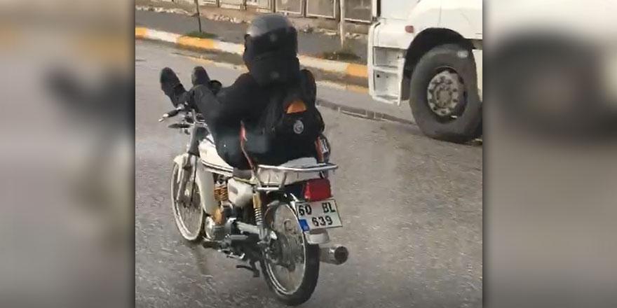 Tokat'ta trafikte ölümcül konfor