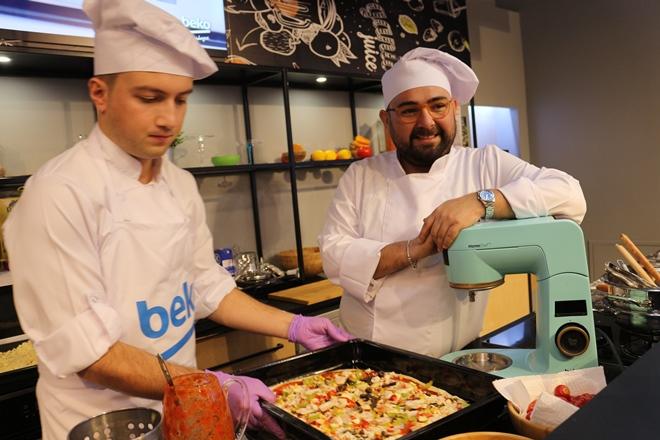 Beko'dan HomeChef ve Pizza Pro Etkinliği
