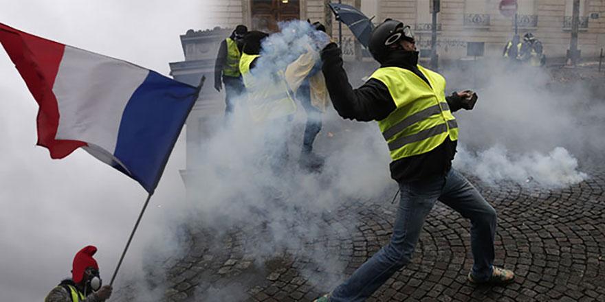 Fransa'da zamlar geri çekildi