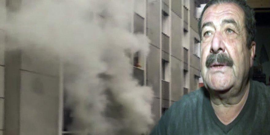 Tarık Papuççuoğlu'nun evinde yangın çıktı
