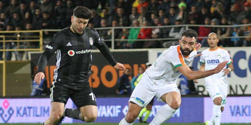 Beşiktaş, Alanyaspor deplasmanında berabere kaldı