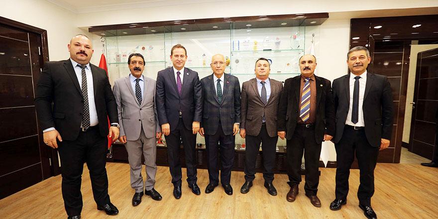Oda Başkanlarından Yaşar'a tam destek