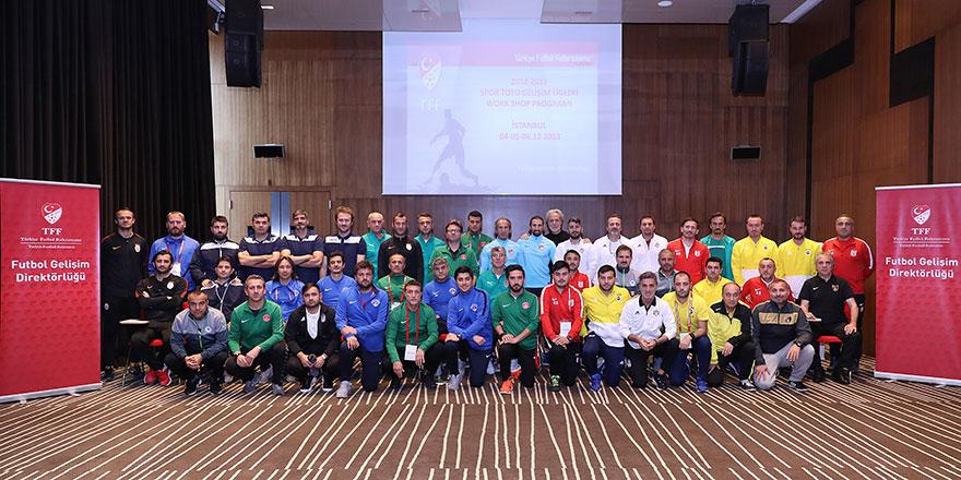 Spor Toto Gelişim Elit Lig workshopları tamamlandı