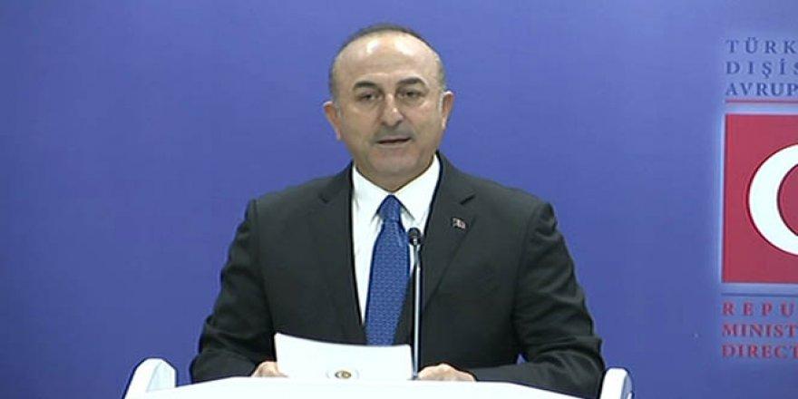 Mevlüt Çavuşoğlu'nun vize açıklaması