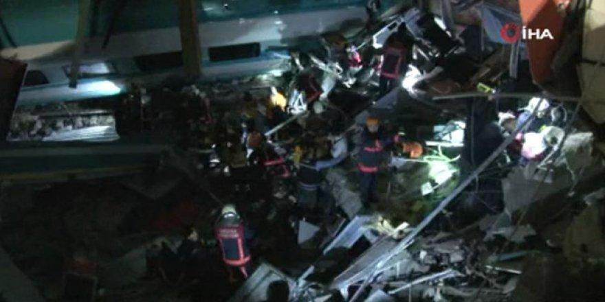 Ankara'da feci hızlı tren kazası: 7 ölü
