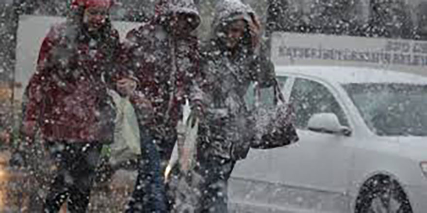 Ankara'da okullara kar tatili
