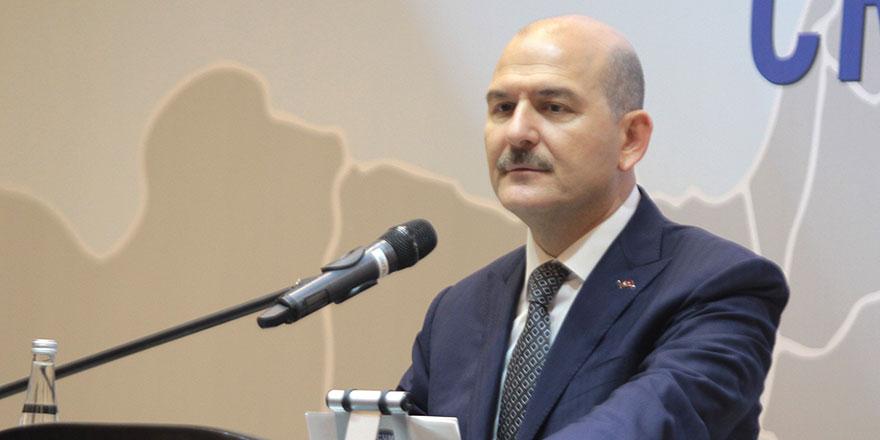 Bakan Süleyman Soylu'dan zehir zemberek açıklama