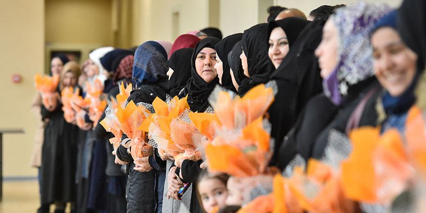Başkentli çiçek kadınlar