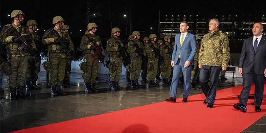 Kosava ordusu kuruldu