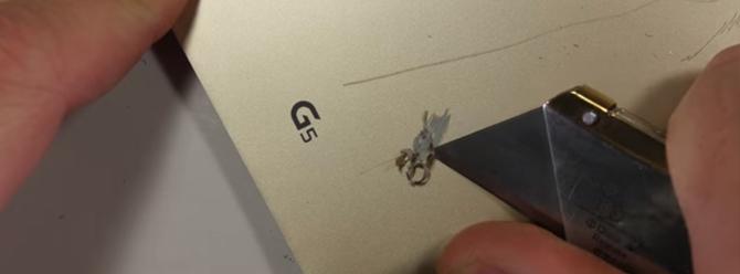 LG G5 metal mi plastik mi? İşte cevabı!