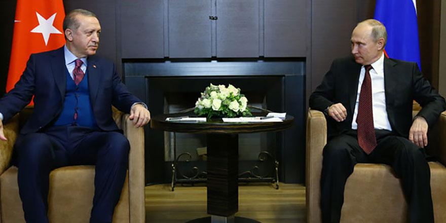 Putin'den Türkiye'ye mesaj
