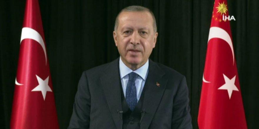 Cumhurbaşkanı Erdoğan'dan 'yeni yıl' mesajı