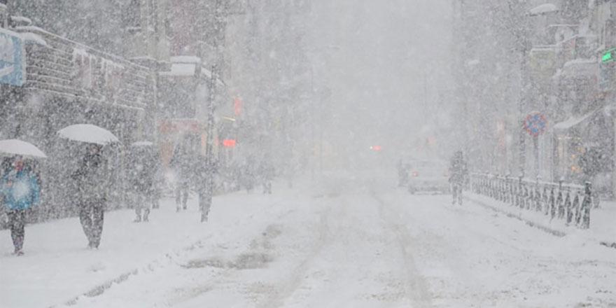 Meteoroloji'den yoğun kar uyarısı yapıldı