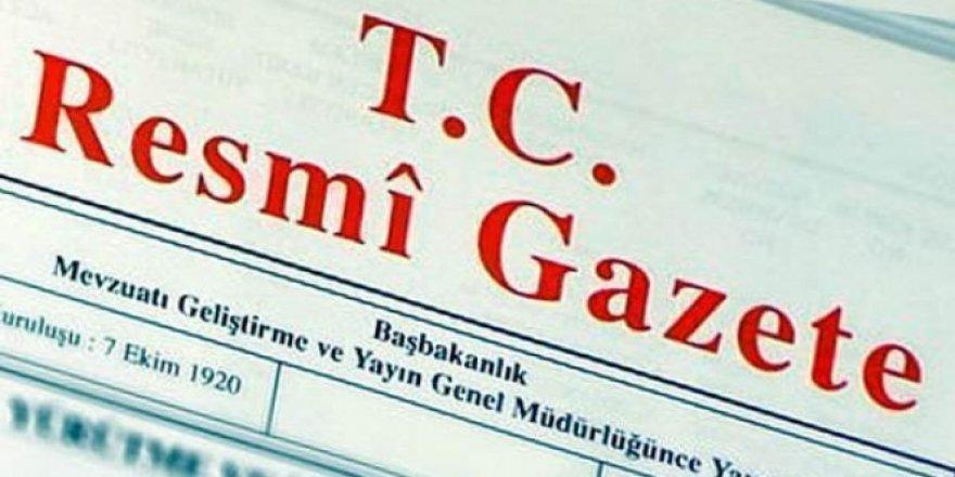 Atamalar Resmi Gazetede yayınlandı