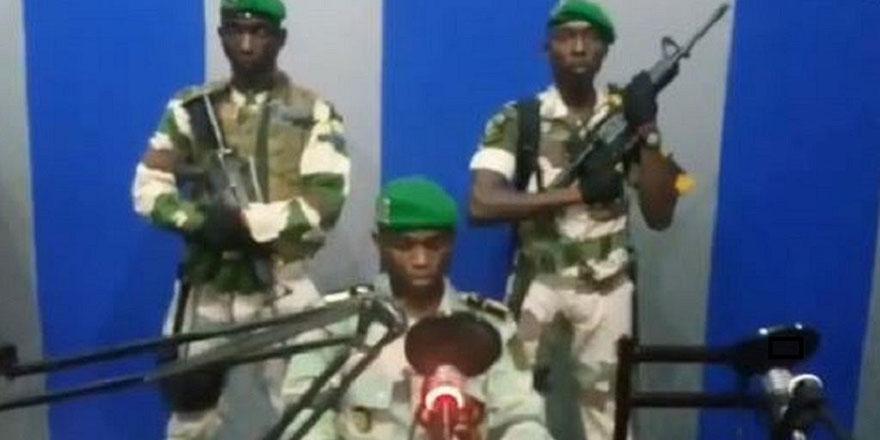 Gabon'da ordu iktidarı ele geçirdi