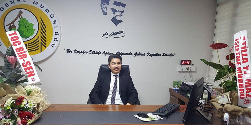 Mehmet Akif Kılıçarslan yeni görevine başladı