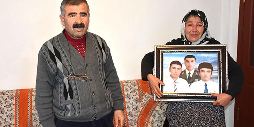 Şehit ailesinin parasına göz diktiler