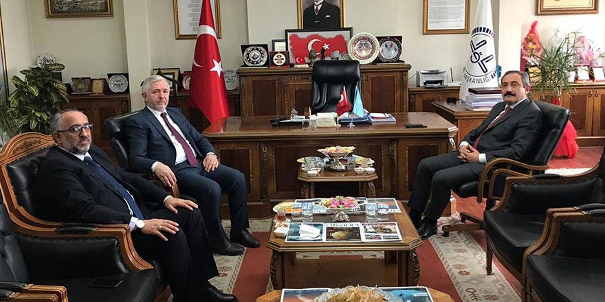 Ankara Emniyet Müdürü Yılmaz, Müftülüğü ziyaret etti