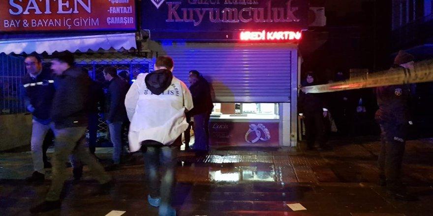 Ankara'da kuyumcu cinayeti