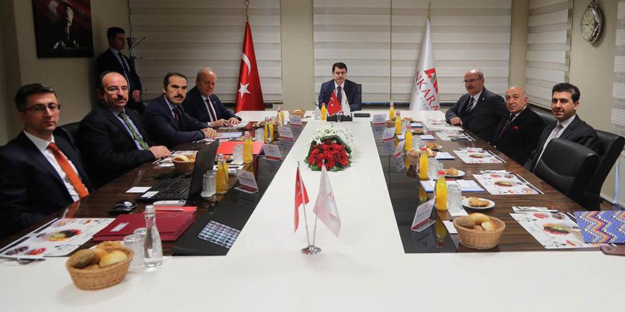 Ankara Kalkınma Ajansı yönetim kurulu toplantısı yapıldı