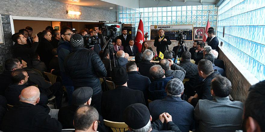 Özhaseki, Ankaralılarla buluşmaya devam ediyor