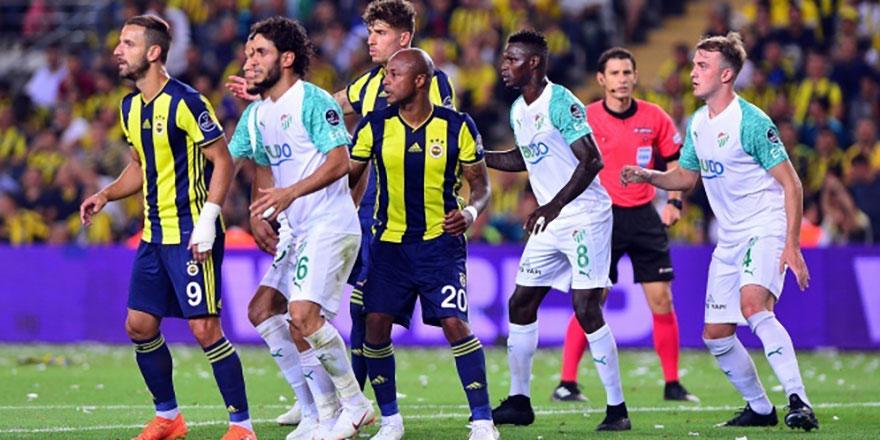 Fenerbahçe Bursaspor deplasmanına gidiyor