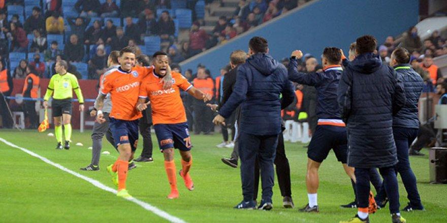 Trabzonspor - Başakşehir karşılaşmasında kazanan belli oldu