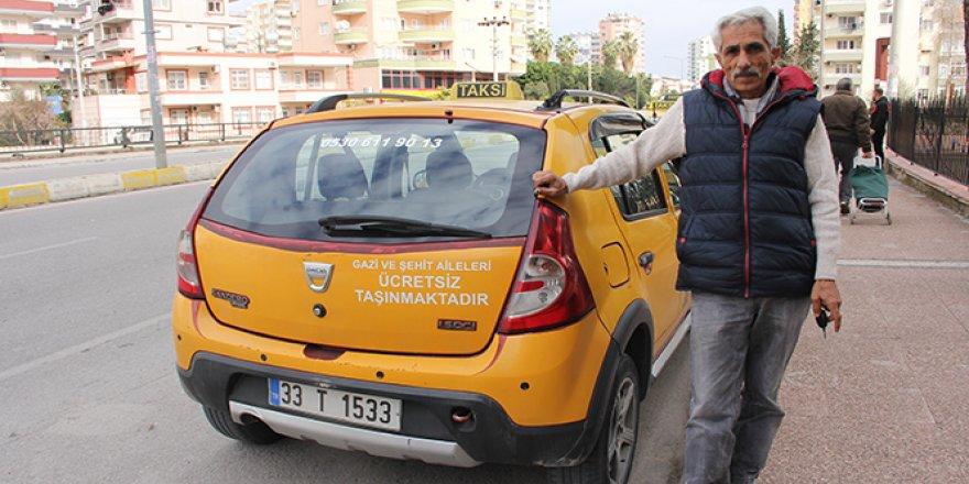 Gazi ve şehit ailelerine ücretsiz taksi