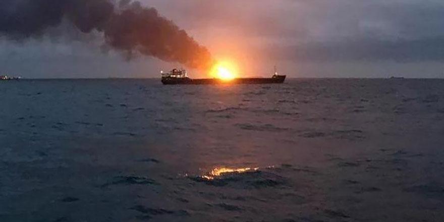 Kerç Boğazı'ndaki gemi kazasında 4 Türk öldü, 4 Türk kayıp