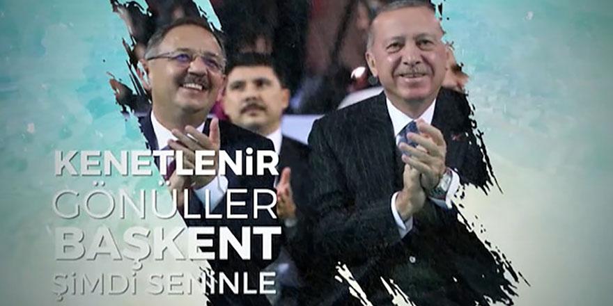 Mehmet Özhaseki'nin yeni seçim şarkısı - Başkent Şimdi Seninle