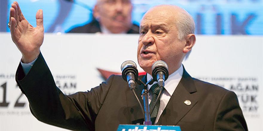 Devlet Bahçeli: 31 Mart beka seçimidir
